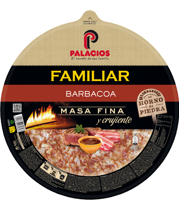 Pizza Familiar Barbacoa