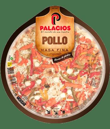 Pizza Masa Fina Pollo