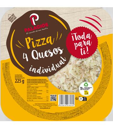 Pizza Mini Micro cuatro Quesos